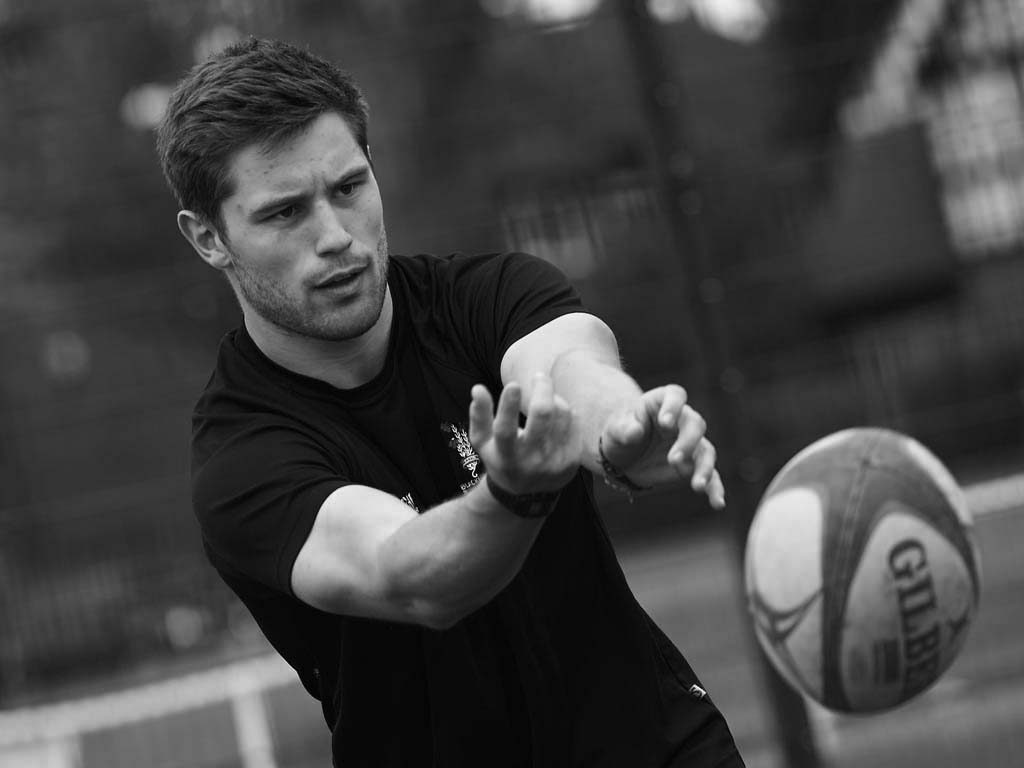 An SCL student attending a rugby training session at one of SCL's academies