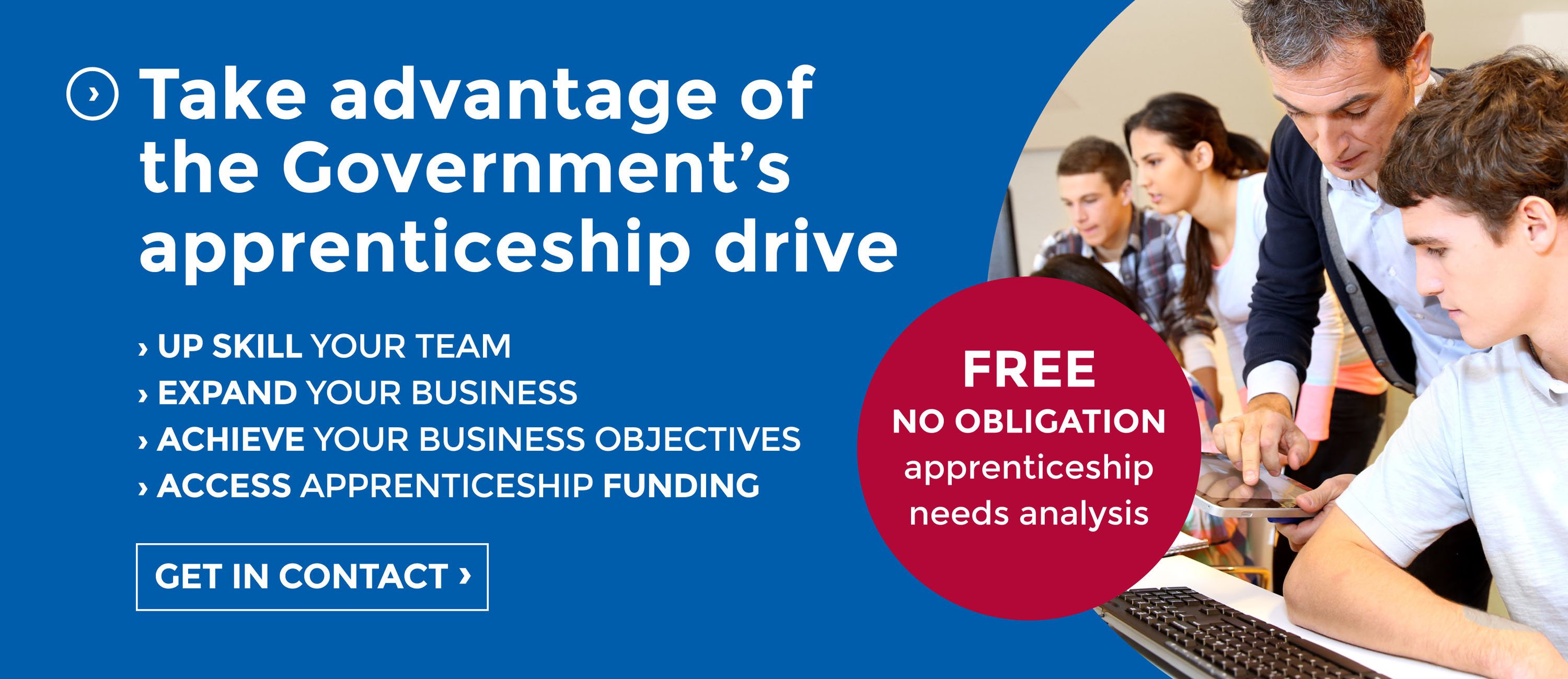 Take advantage of the governments apprenticeship drive with SCL